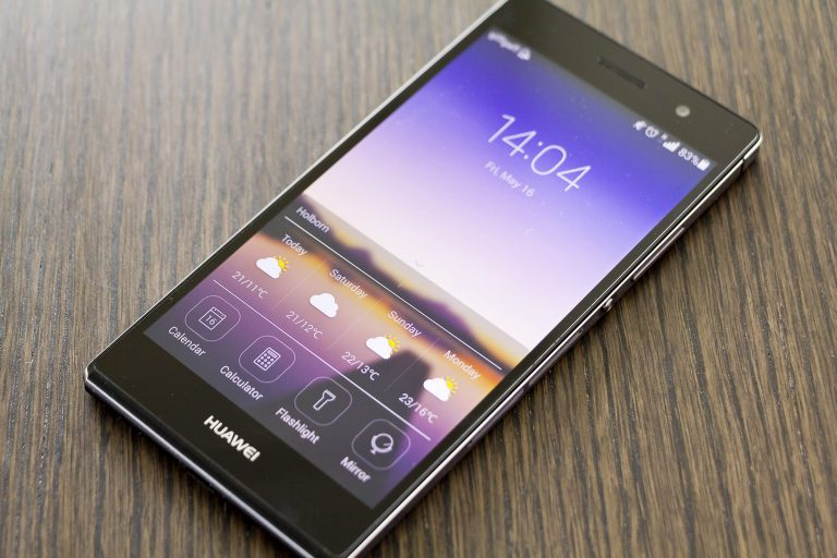 HUAWEİ ASCEND P7 REVIEW
