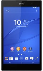 sony xperia z3 compact tablet 1