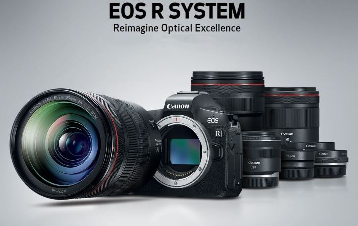 Canon EOS R was introduced. Full frame without mirror.