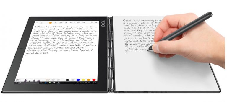 Lenovo Yoga Book for both Windows and Android