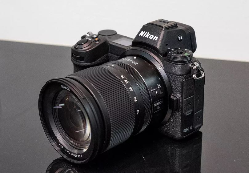 Nikon Z series introduces full frameless mirrorless cameras.