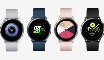 Samsung Galaxy Watch Active was introduced. Properties