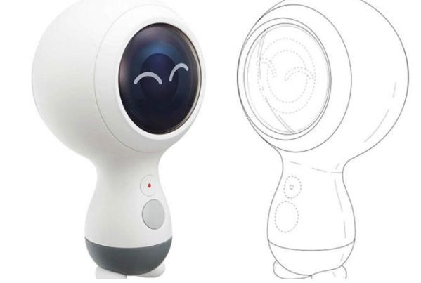 Samsung may have patented the new Gear 360 (2018) camera.