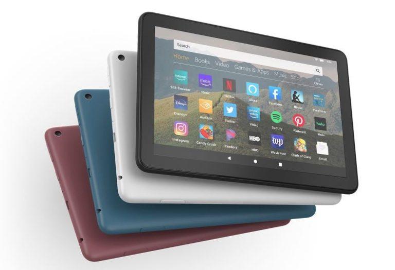 Amazon Fire HD 8 Tablet (8″ HD display)