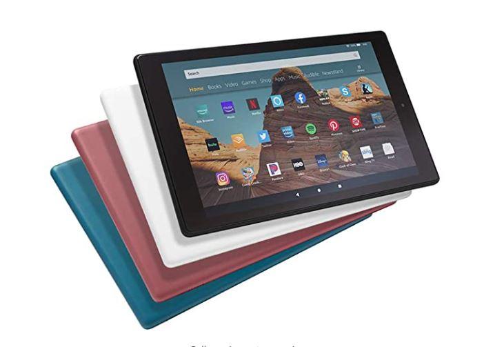 Amazon Fire HD 10 Tablet 10.1″ 1080p full HD display