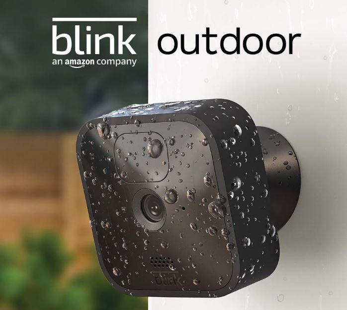 Blink Outdoor camera wireless, two-year battery life